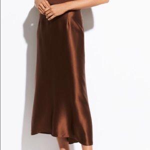100% silk skirt from Vince